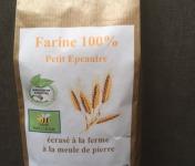 FARINE DE LA TUILERIE - Farine de Petit Épeautre - 500 gr