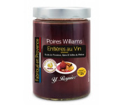 Conserves Guintrand - Poires Williams Entières Au Vin AOP Côtes du Ventoux - Y. Reynier - Bocal 580ml