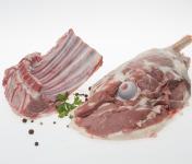 Coopérative Axuria - [Précommande] PÂQUES 1 Gigot + 1 Carré D'agneau de Lait des Pyrénées IGP - Label Rouge