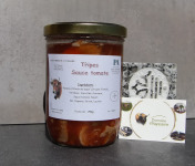 La Ferme du Vayssaïre - Lot de 4 Bocaux de Tripes à la Tomate Viande Aubrac