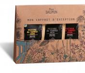 Epices Max Daumin - Coffret Poivres - Trilogie De Kampot (noir, Jaune, Rouge Bio & Igp)