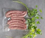 La Ferme du Vayssaïre - Saucisses- Chipolatas de Bœuf Aubrac - Lot de 8
