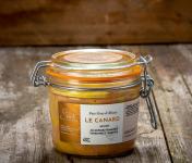 La Ferme Schmitt - Foie Gras de Canard d'Alsace Mi-Cuit au Gewurztraminer Vendanges Tardives, en verrine de 300g