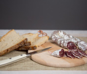 Ferme de Pleinefage - Lot de 2 Saucissons de Porc et de Canard