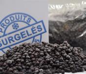 Trapon Champignons - Myrtilles Sauvages Surgelées 3kg