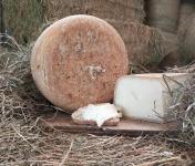 La ferme Lassalle - Fromage de Brebis AOP Ossau-Iraty Fermier de Printemps Boule Entière - 4,8kg