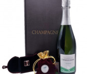 Le safran - l'or rouge des Ardennes - Coffret Champagne, Safran Et Bague Safranée -) Spécial Fêtes des Mères