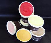 Philippe Segond MOF Pâtissier-Confiseur - 12 pots de crèmes glacées classiques