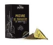 Epices Max Daumin - Poivre Noir - Boite de dix dosettes