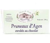 Ferme du Lacay - Pruneaux D'agen Enrobés Au Chocolat -200g