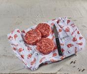 BEAUGRAIN, les viandes bien élevées - Bœuf Charolais bio - Steaks Hachés 5% MG  2 x 180g