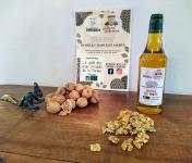 Domaine L'Hermiton - Coffret BIO Noix coquille 2 kg - huile de noix 50 cl