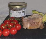 La Ferme du Montet - Jambonneau de Porc Noir Gascon BIO - 380 g