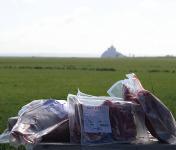 La Ferme des Obiones - [Précommande] Demi-agneau de Pré-Salé Élevé en Plein-air 7 kg