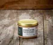 La Ferme Schmitt - Mousse De Foie D'oie D'Alsace (50% de foie gras d'oie) Au Pineau Des Charentes 180g