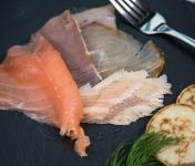 Olsen - Assiette scandinave aux 5 poissons fumés 120g