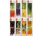 Maison Sales - Végétaux d'Art Culinaire - Composition Mix De Mini Légumes - 8 Barquettes