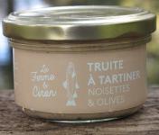 La Ferme du Ciron - Truite À Tartiner Noisettes & Olives