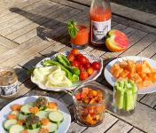 La Boite à Herbes - Panier Apéro : fruits et légumes