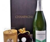 Le safran - l'or rouge des Ardennes - Coffret Champagne, Safran Et Bracelet -) Spécial Fêtes des Mères