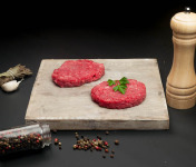Nature et Régions - Steak À Burger Xl De Bœuf - 4x130 G