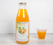"""La Ferme de l'Ayguemarse - Nectar d'abricot 1L (variété """"Polonais"""" ou Orangé de Provence)"""