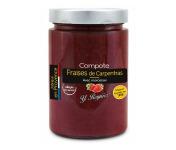 Conserves Guintrand - Compote De Fraise De Carpentras Allégée En Sucres Yr - Bocal 327 Ml