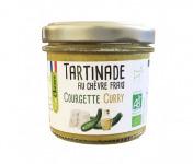 Fromagerie Seigneuret - Tartinade Au Chèvre Frais - Courgette Et Curry 90g
