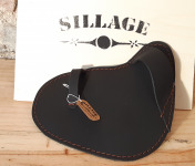 Sillage Maroquinerie - Gant Huîtrier Noir - Pour Gaucher