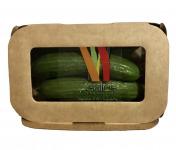 Maison Sales - Végétaux d'Art Culinaire - 24- Mini Concombre - 5 Pièces