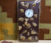 Pâtisserie Kookaburra - Tablette Chocolat Noir 70% & Gingembre Confit