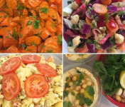 Colette Natural Food - Mini-assortiment de 4 salades veggie