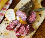 La ferme d'Enjacquet - Saucisson De Boeuf Et Porc Noir Gascon