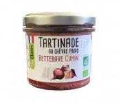 Fromagerie Seigneuret - Tartinade Au Chèvre Frais - Betterave Et Cumin 90g