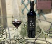 DOMAINE DU MAS DE REY - IGP Terre de Camargue - Cuvée ''Marselan rouge 2017'', Lot de 6 Bouteilles