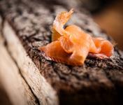 Fumaison Occitane - Filet de Saumon Fumé À Froid Tranché (1 Kg, Mini 20 Tranches)