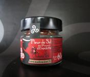 Le Panier à Poissons - Fleur De Sel Au Piment D'espelette, 100% Sel De Guérande