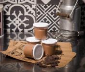 Le Petit Atelier - Lot De 4 Pots De Crème Dessert Chocolat Intense