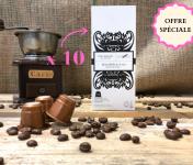 Cafés Factorerie - Offre Spéciale Capsules Malabar Des Indes : 100 Capsules