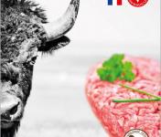 Bisons d'Auvergne - [SURGELÉ] 10 Steaks Hachés de Bison Surgelés (100g)