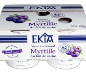 BASTIDARRA - Yaourts Brassés Myrtille - 4 Pots