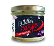 Ma-  poissonnière - Rillette De Carpe Et Piment D'espelette - 90g