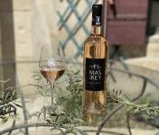 DOMAINE DU MAS DE REY - IGP Terre de Camargue  - Cuvée ''Caladoc rosé 2019'' , Lot de 3 Bouteilles