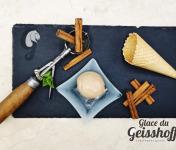 Glace du Geisshoff - Cannelle de Ceylan Crème Glacée Fermière au Lait De Chèvre 750 ml