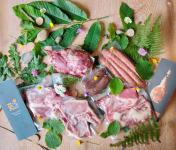 Ferme AOZTEIA - [Précommande] Colis De Viande Fraîche De Porc Basque Kintoa Aop - 2,5kg