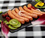 La ferme Grandvillain - Saucisses De Poulet - Chorizo & Emmental 6 X 60 G