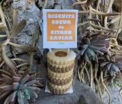 Le Jardin des Antipodes - Biscuits  Coeur De Citron Caviar (mixte Vanille-chocolat)