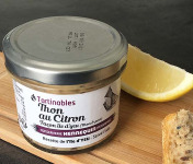 Ô'Poisson - Tartinables Thon Blanc Au Citron