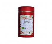 Le safran - l'or rouge des Ardennes - Thé Blanc Vanille-fleurs-safran, 100g, 66 Tasses Bio