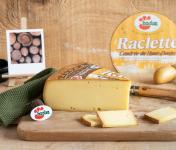 Constant Fromages & Sélections - Raclette Badoz Au Lait Cru La Cendrée Du Haut-doubs - 1000g